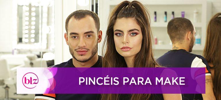 Aprenda a usar pinceis com Rodrigo Ramas