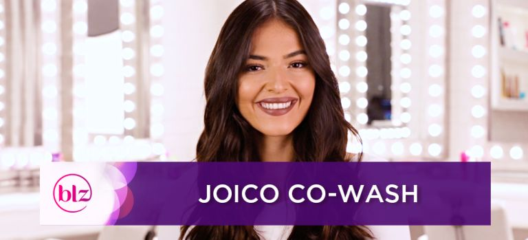 Arrase com o tratamento Joico Co-Wash