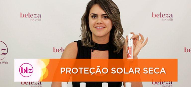 Proteção Solar Seca com Solst
