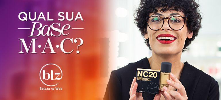 Base M·A·C Studio Fix com Fabiana Gomes