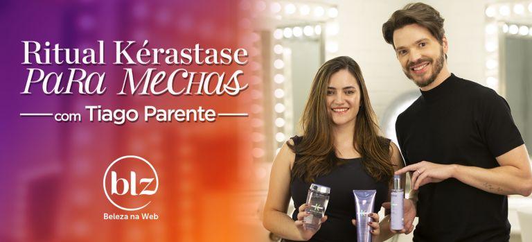 Kérastase Blond Absolu para Morenas Iluminadas com Tiago Parente