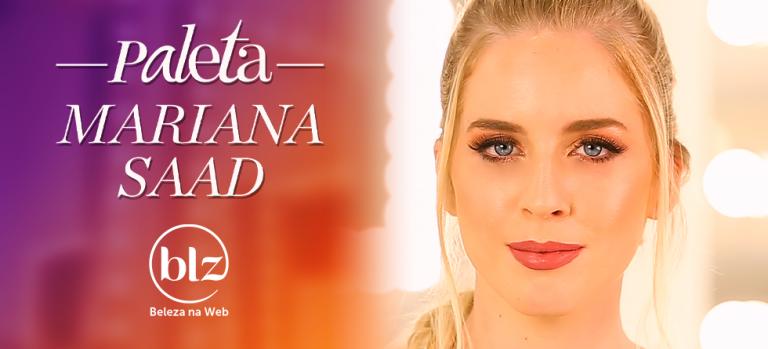 Tutorial de maquiagem com paleta Mariana Saad