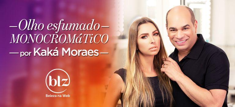 Olho esfumado com Kaká Moraes
