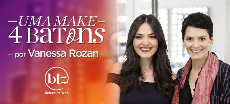 Maquiagem neutra com diferentes batons com Vanessa Rozan