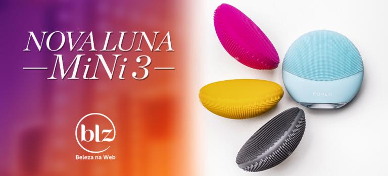 Nova escova Foreo Luna Mini 3