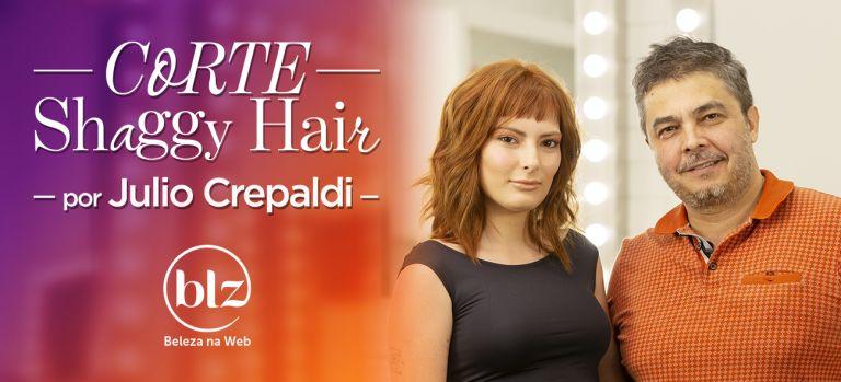 Corte de cabelo Shaggy com Julio Crepaldi