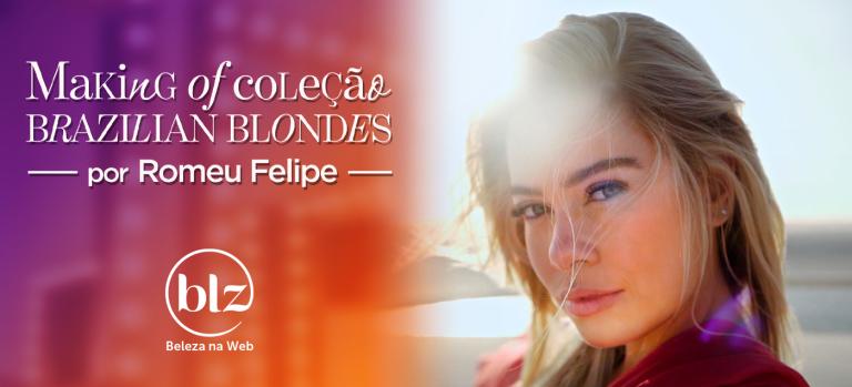Making of da campanha Brazilian Blondes