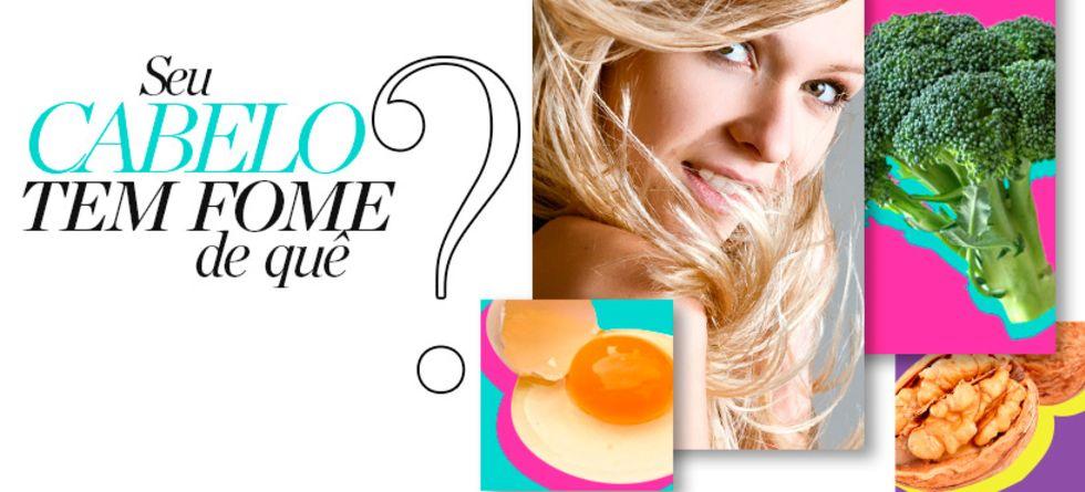 Alimentos essenciais para um cabelo saudável