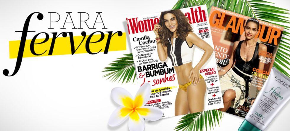 Cabelo de verão - novidades das revistas