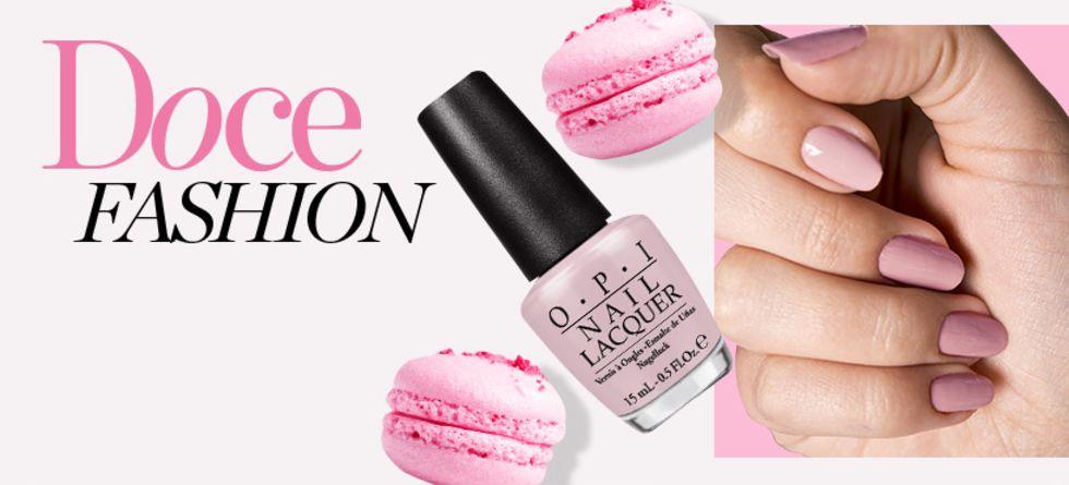 Esmalte rosa é tendência
