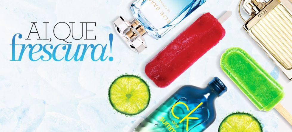Lançamentos perfumes importados de verão