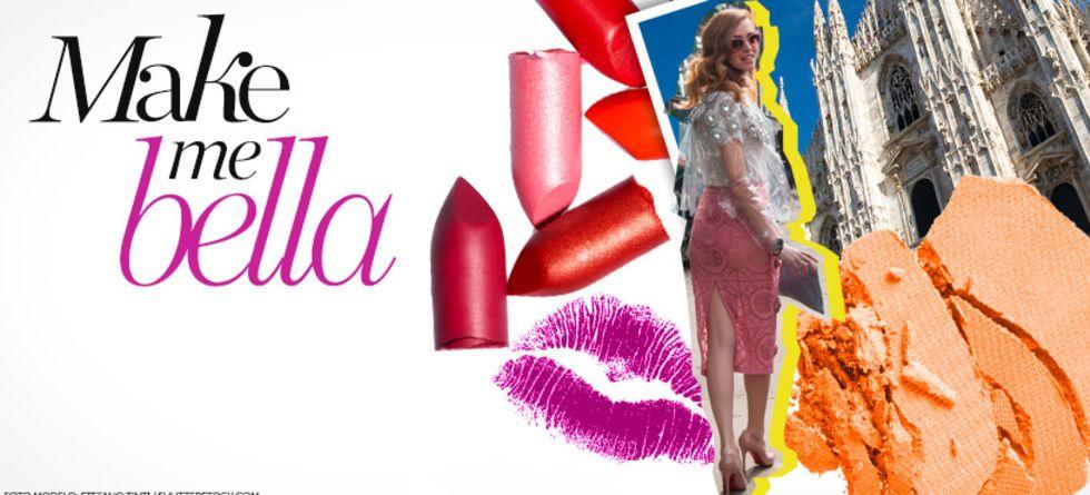 Maquiagem Milão Fashion Week
