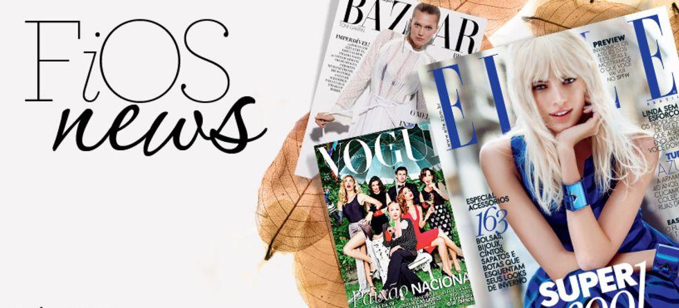 Novidades de beleza das revistas de abril