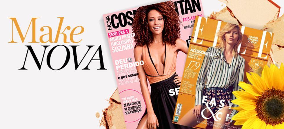 Novidades de maquiagem nas revistas de outubro