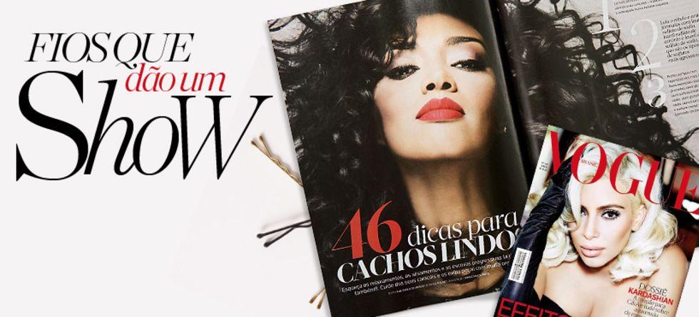 Novidades sobre cabelos nas revistas de junho