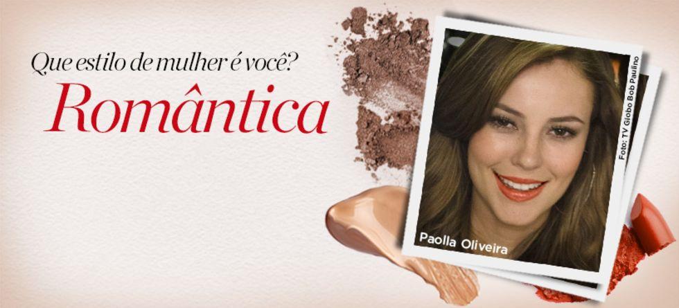 Maquiagem de Paolla Oliveira
