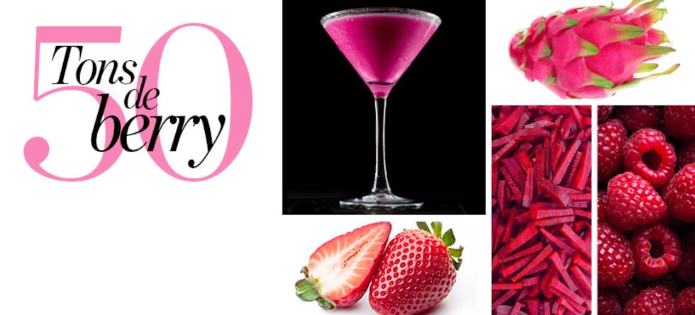 Receitas de sucos detox rosa