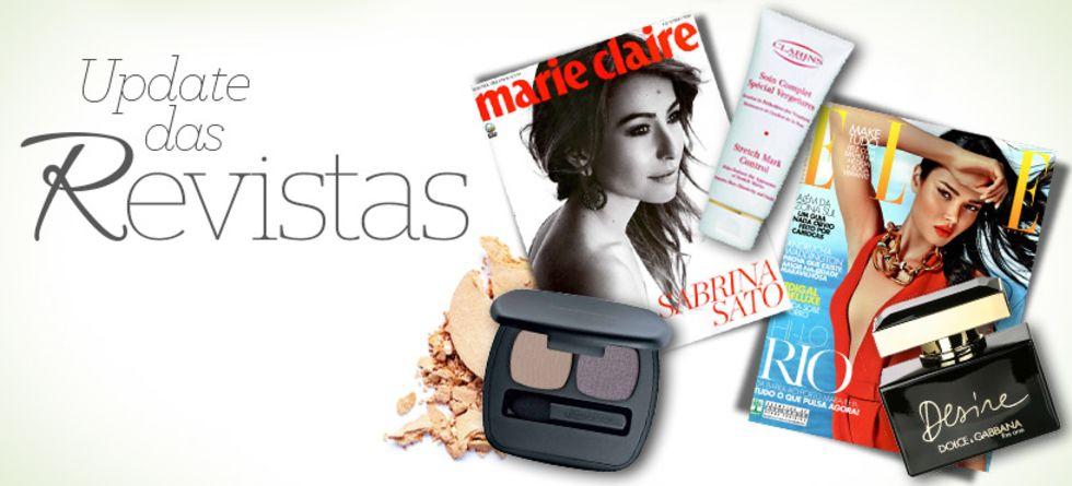 Revistas femininas de outubro