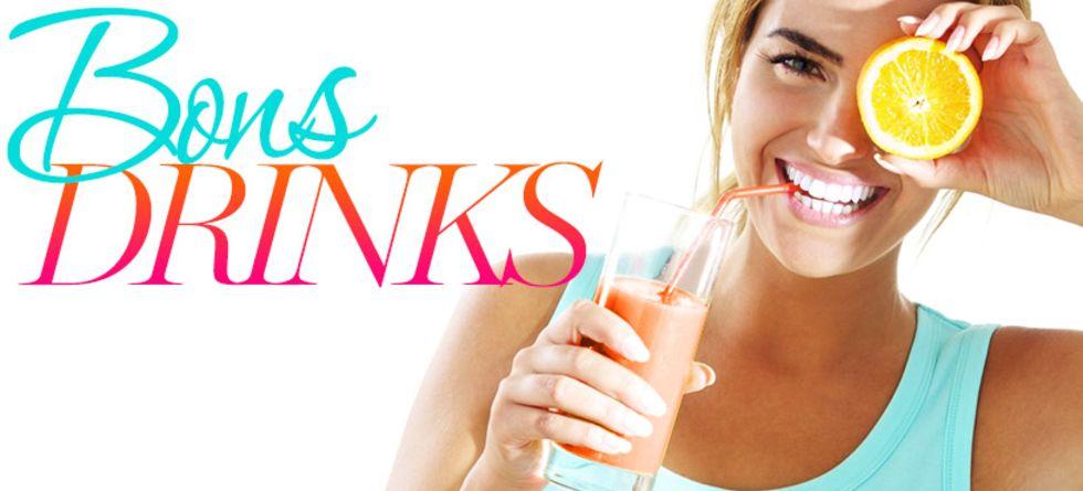 Receitas de sucos detox