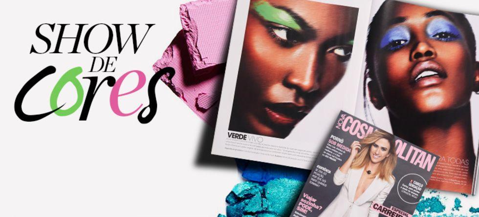 Tendências de maquiagem nas revistas de abril 2016