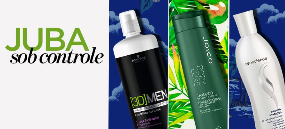 Tipos de shampoo para cabelo masculino
