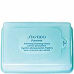 Lenços pureness refreshing shiseido