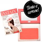 Instain Swiss Dot Peach - Blush