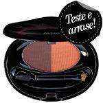 Eyebrow & Eyeliner Compact Light Brown - Duo Sombra E Delineador Shiseido