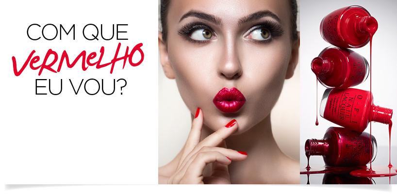 Esmalte vermelho claro ou escuro? Qual combina com sua pele? banner