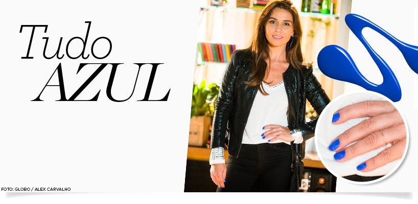 Giovanna Antonelli lança tendência com seu esmalte azul banner