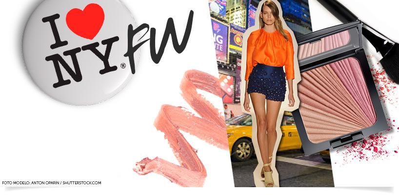 Maquiagem New York Fashion Week 2014 banner