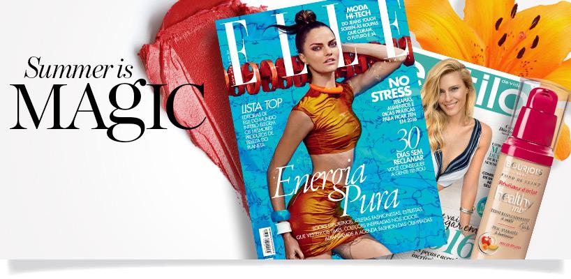 Novidades de Maquiagem nas revistas de Janeiro