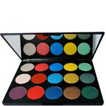 hot makeup professional cool-colours paleta de sombras
