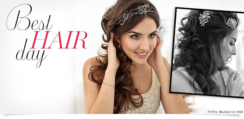 Penteados para noivas - acessórios de cabelo e ideias de penteados para casamento banner