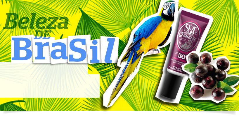 Extratos naturais do Brasil banner
