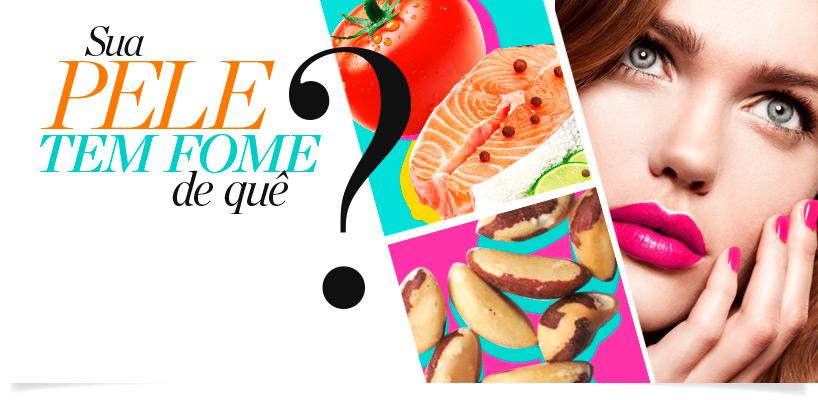Alimentos essenciais para uma pele saudável banner