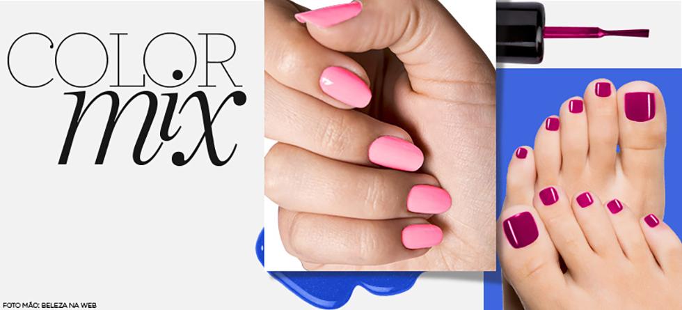 Como combinar cor de esmalte nas mãos e nos pés
