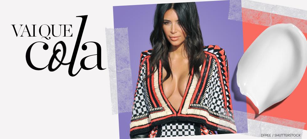 O segredo dos seios de Kim Kardashian