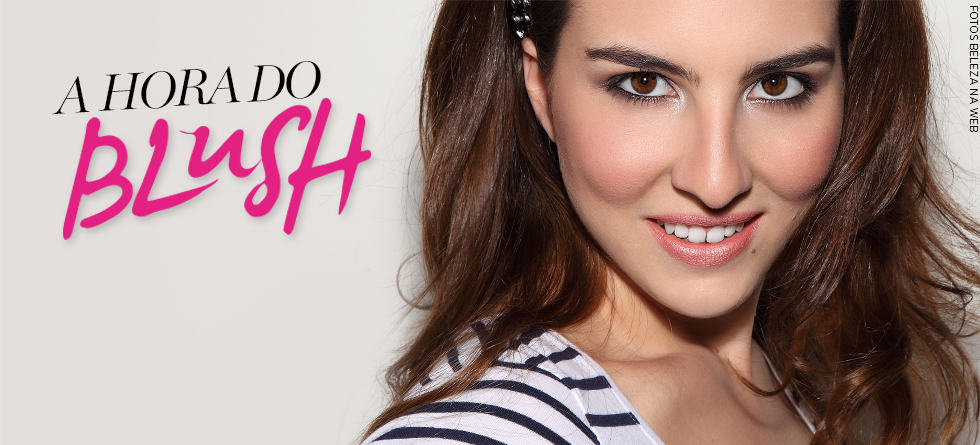 Como aplicar blush