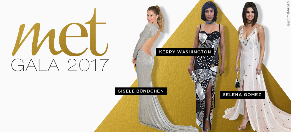 Met Gala 2017: top 10 looks