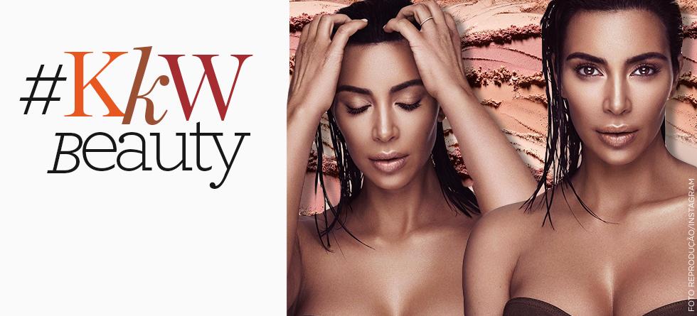 Kim Kardashian lança linha de make