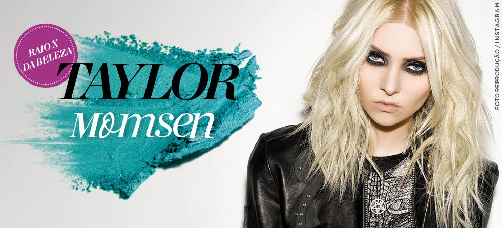 Taylor Momsen e a make ideal para o Dia do Rock