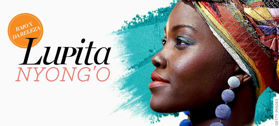 Lupita Nyong'o arrasa ao apostar em look color block