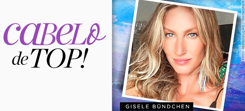 Gisele Bündchen: o produto pra cabelo favorito da top
