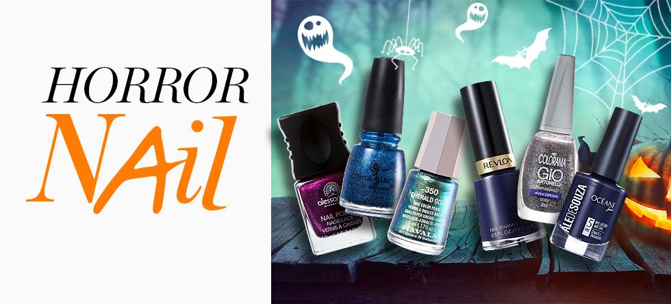 9 esmaltes para a manicure de Halloween