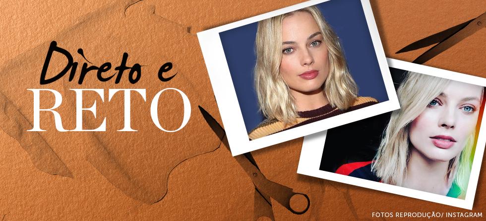 O cabelo de Margot Robbie