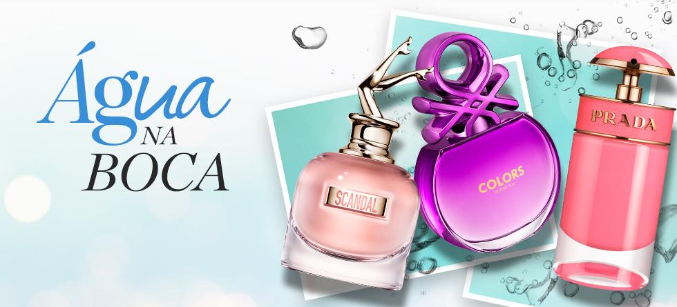 Tendência de perfumes gourmand
