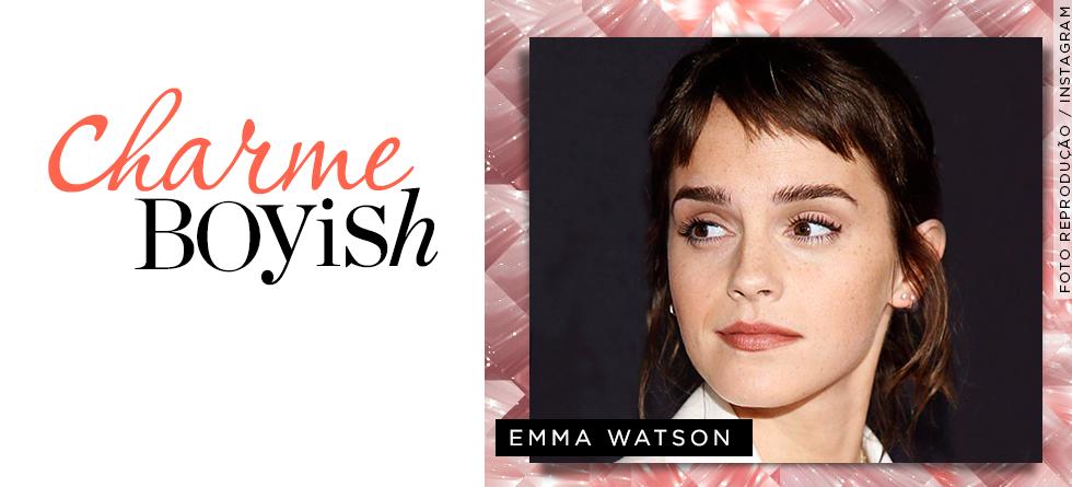 A franja de Emma Watson