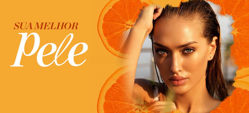 Vitamina C transforma a pele em uma semana