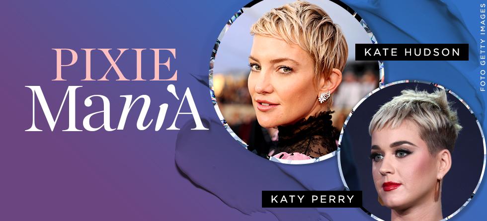 O novo corte de cabelo de Katy Perry e Kate Hudson